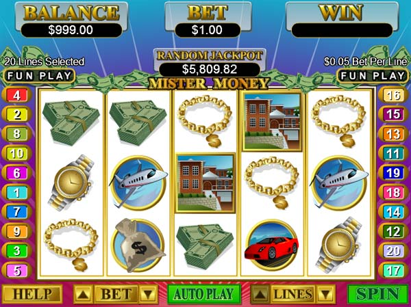 free casino play money
